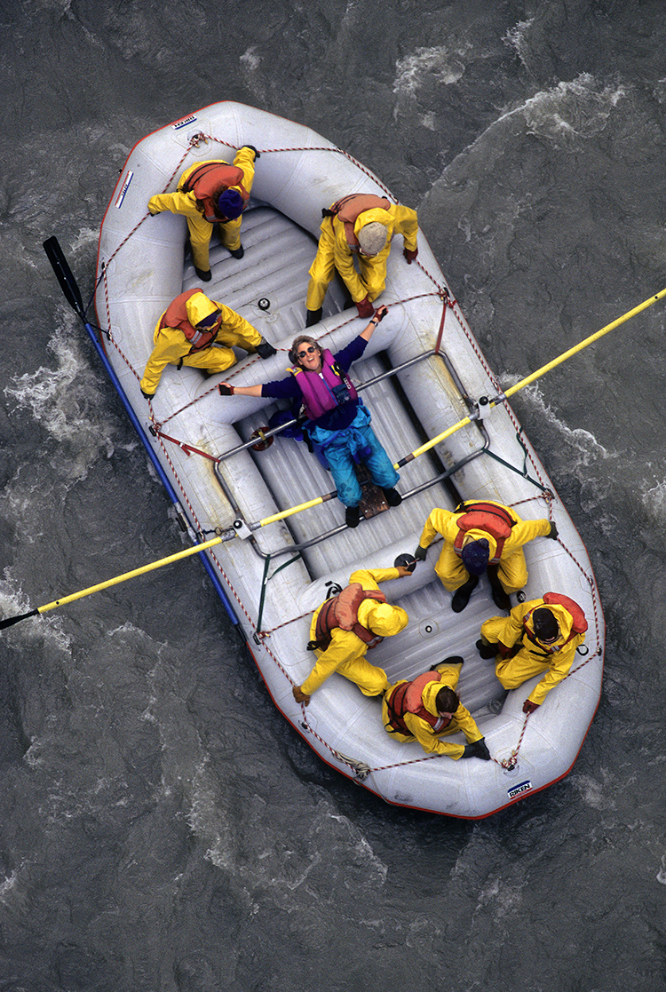 Rafting in Denali National Park