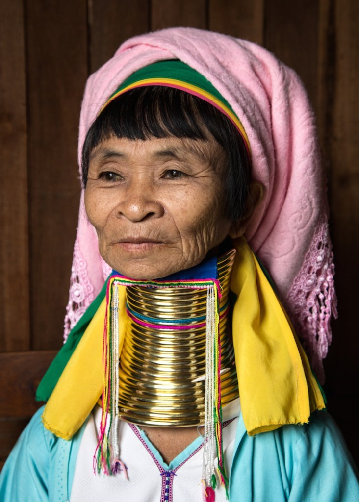 longneck woman in myanmar by rick sammon.
