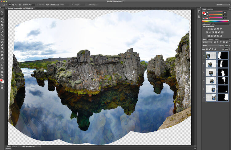 rick sammon: how to make panoramas