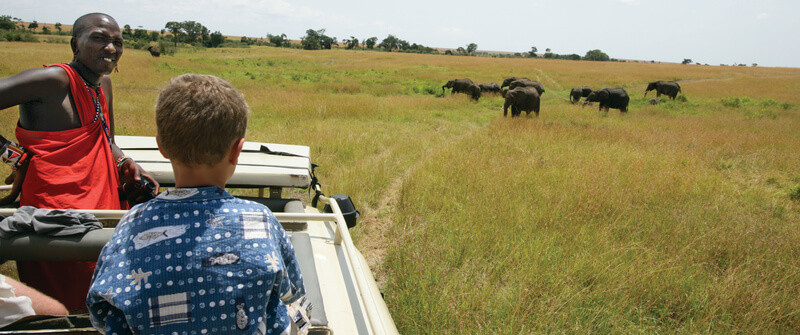 age limits for kids on safari