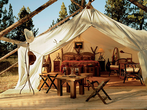 Glamping fits the travel style of most Millennials. ©Wicker Paradise, flickr
