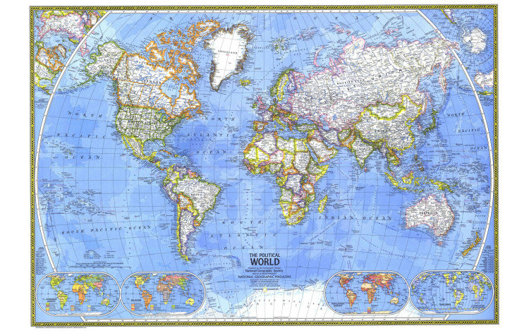 Adventure Collection – Travelers World Map