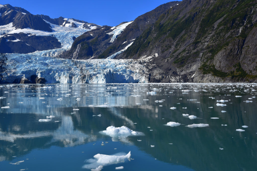 Glacier view from water, Alaska