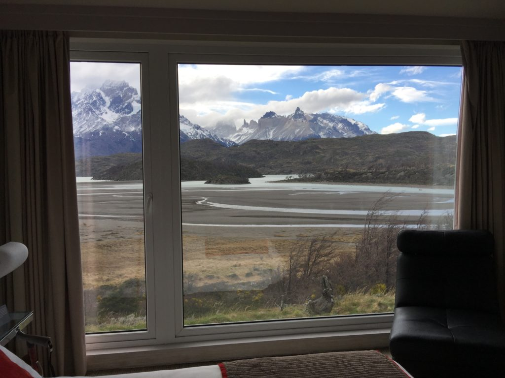 view from Lago Grey, Patagonia