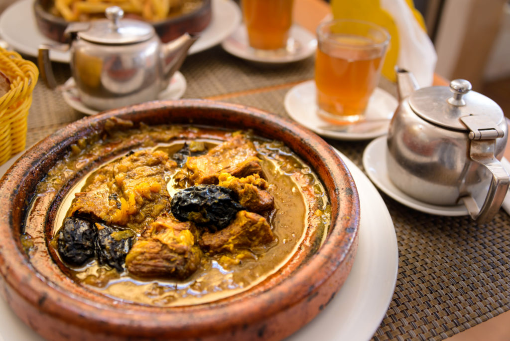 tajine, staple of Morocco cuisine