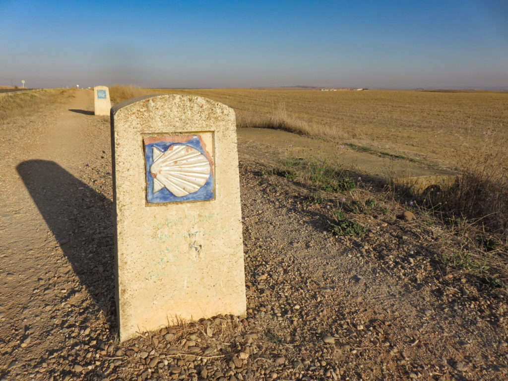 Camino de Santiago, the meseta, Spain